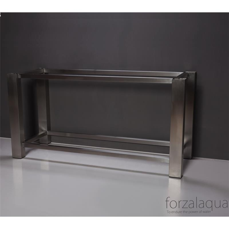 Stainless Steel Frame - Brushed Steel 400(W) x 800(H) x 600(D)