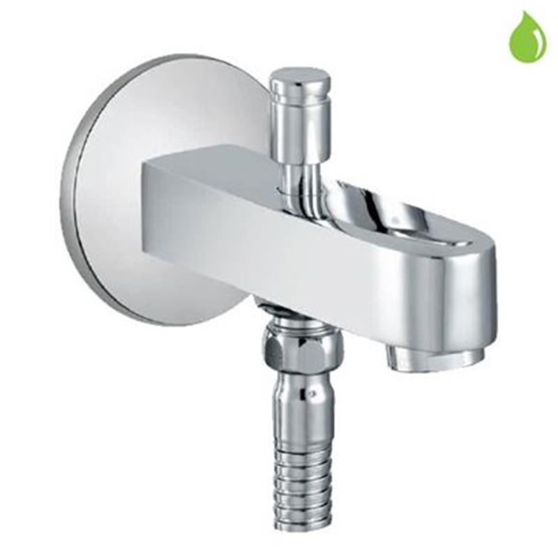 Fusion Fusion Bath Spout with Diverter & Wall Flange
