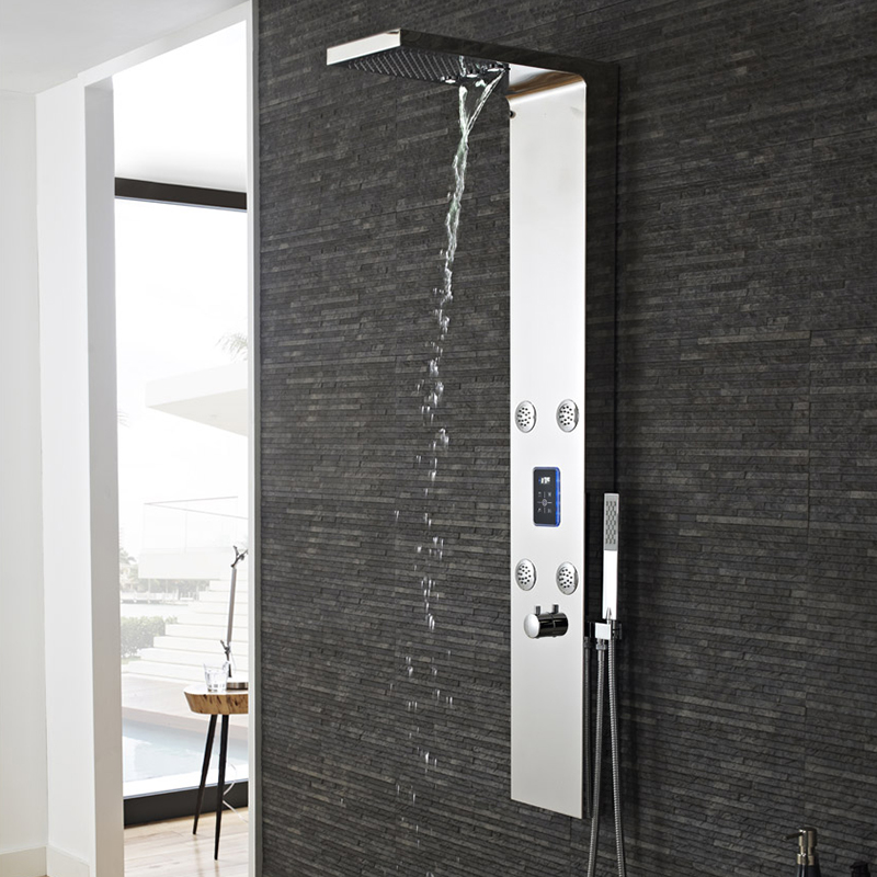 GENIE LED THERMO SHOWER PANEL