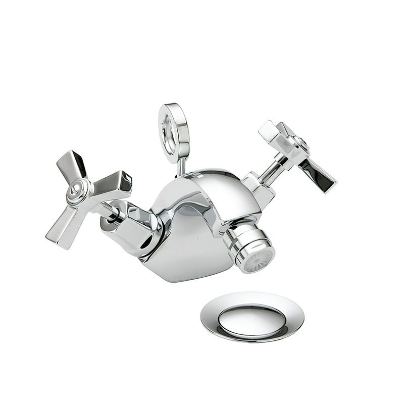 Gracechurch Mono Bidet Mixer Chrome