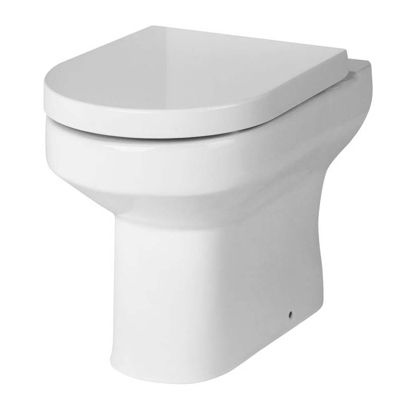 Harmoney back to wall Toilet and sodt close seat