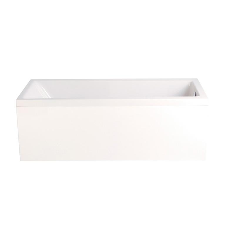 1700 Acrylic Bath Panel White