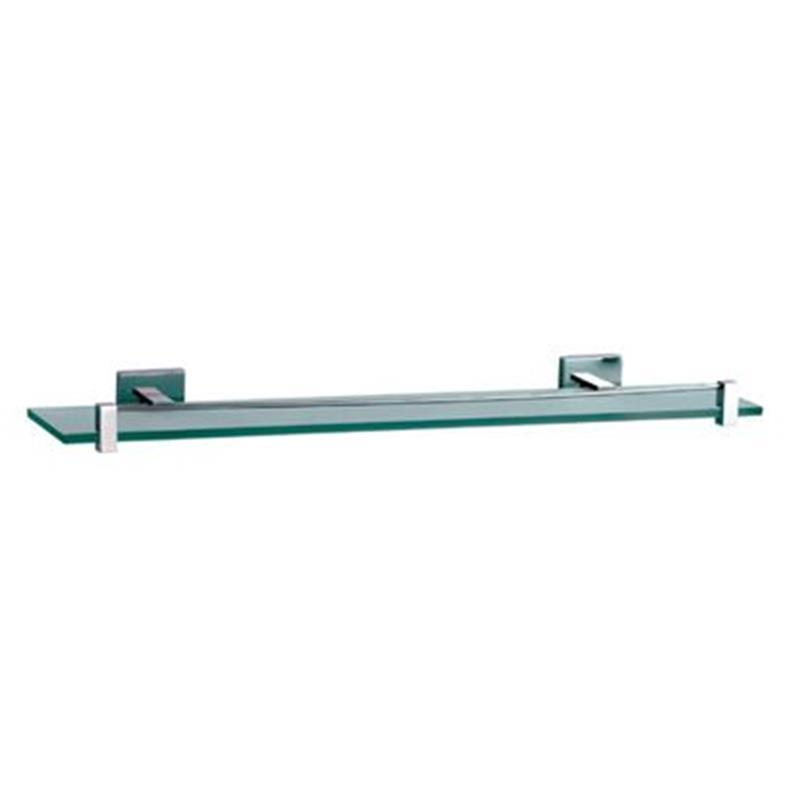 Kubix Glass Shelf 600mm Long