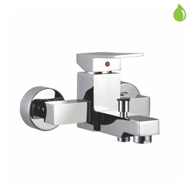 Kubix Single Lever Bath & Shower Mixer, Wall Mounted, HP 1.0