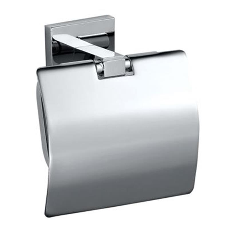 Kubix Toilet Roll Holder with Flap