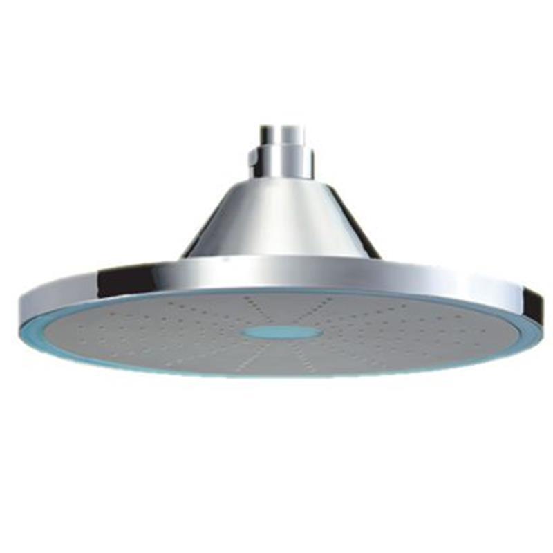 LED Single Function 234mm dia Round Shape Overhead Shower, HP 1.0