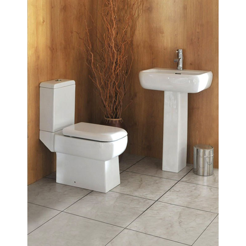 Rak Metropolitan 4 Piece Bathroom Suite with Soft Close Seat
