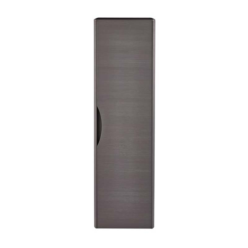 Midnight Grey Eclipse 350mm Wall Hung Tall Cabinet