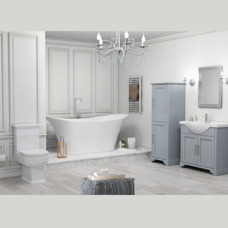 Old England 65 Bath suite Dove Grey