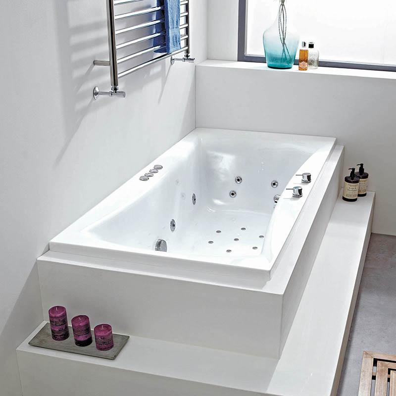 OMEGA 200 x 90 AMANZONITE BATH SYSTEM 1