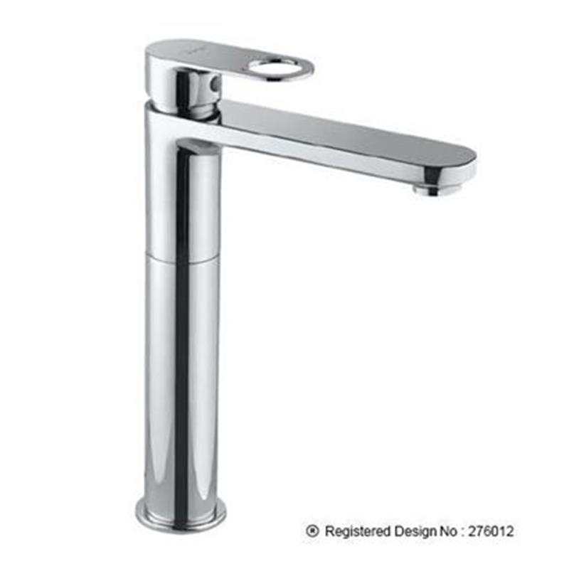 Opnamix Prime Single Lever Extended Basin Mixer with 150mm Extension Body Fixed Spout without waste