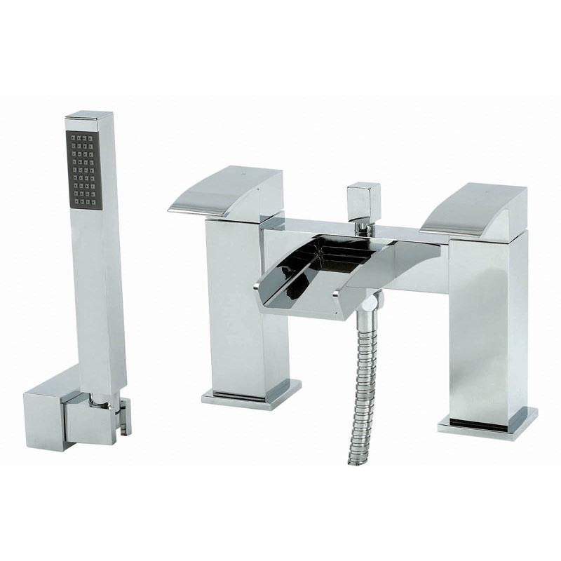 Phoenix AC Range Deck Mounted Bath Shower Mixer With Shower Kit