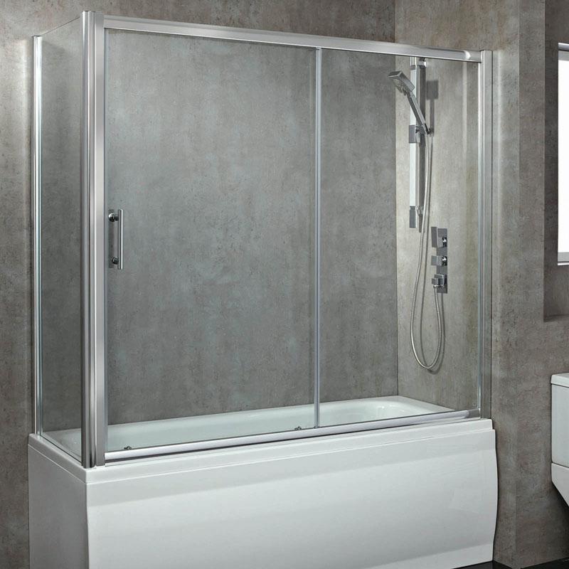 Phoenix Luxury 8mm Overbath Side Panel 750mm