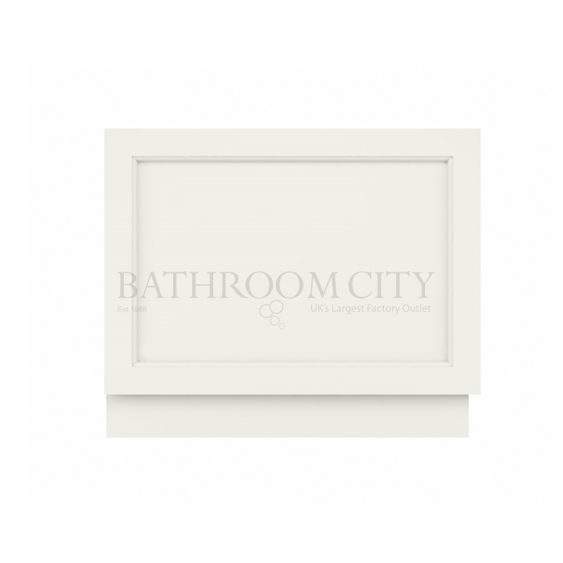 POINTING WHITE 750MM BATH END PANEL