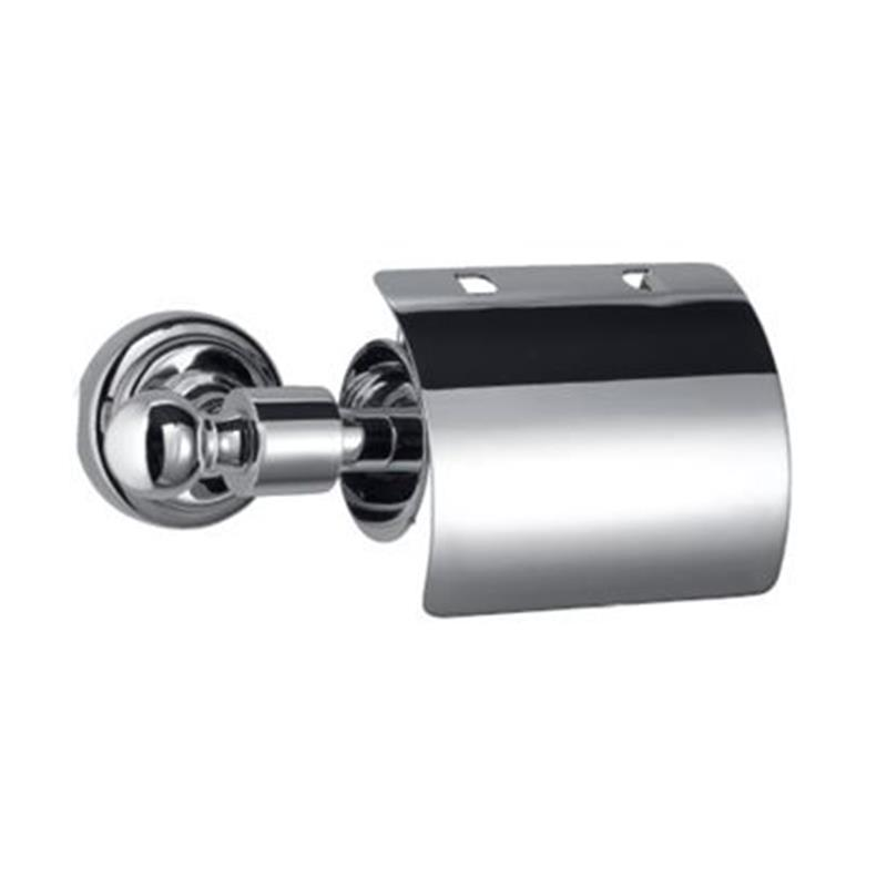Queens Toilet Paper Holder with Lid