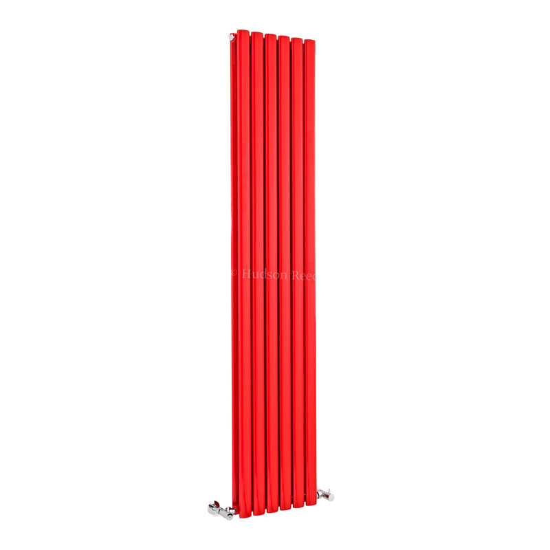 RED REVIVE DOUBLE PANEL RADIATOR 1800mm x 354mm