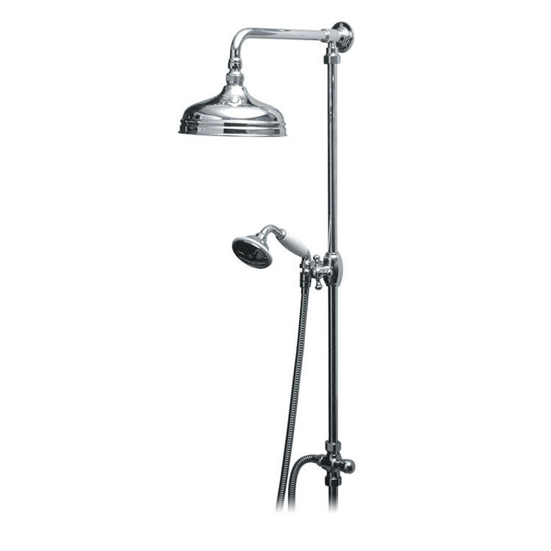 Traditional Rigid Riser Kit with Shower Head