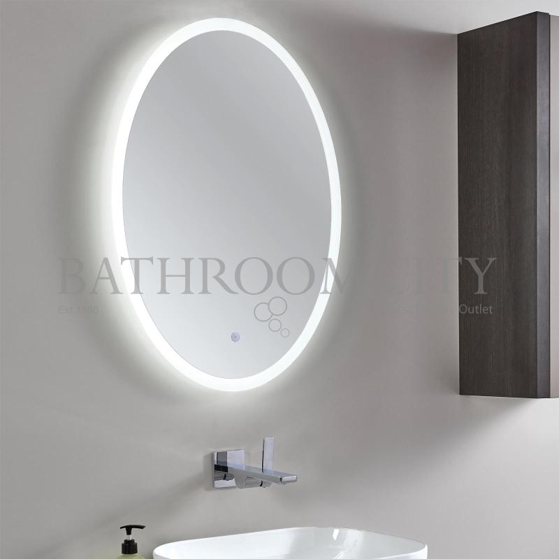 Rosa Led Backlit Oval Mirror