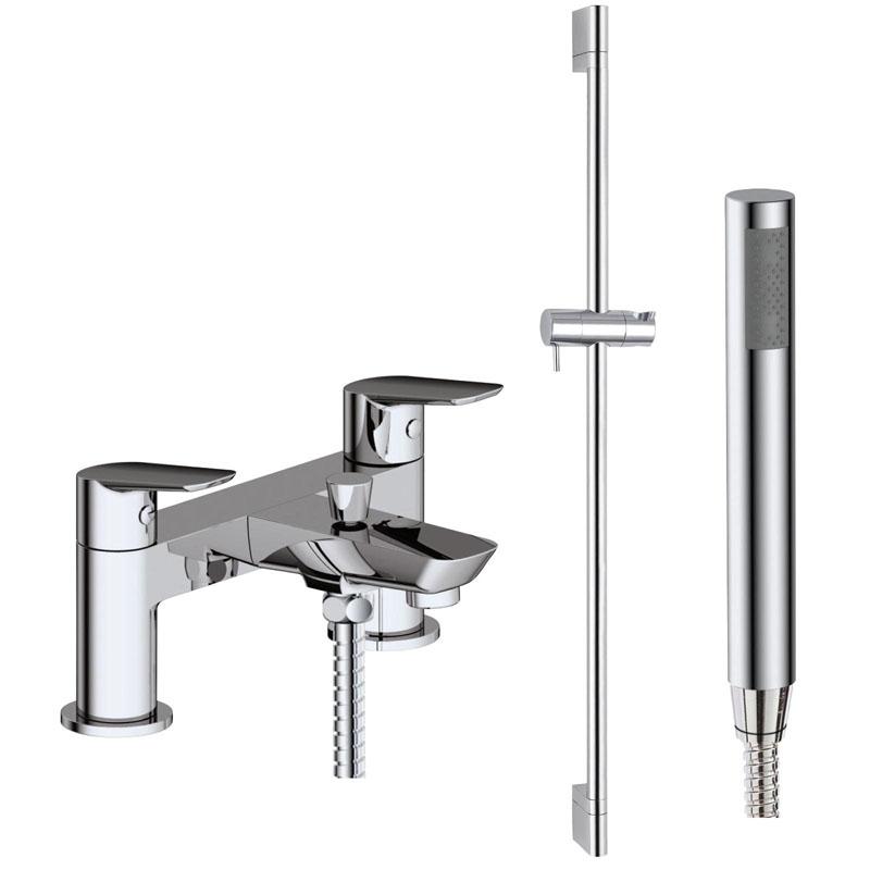 SONIA Bath Shower Mixer inc Slide Rail Kit Hose and Handset