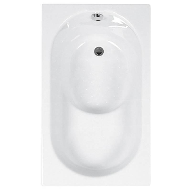 Sit Bath Plain 1200 x 700 5mm White