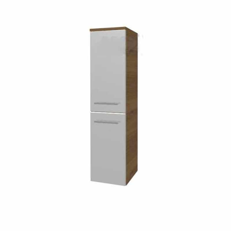Solitaire 6900 Wall Hung Side cabinet LH  1218x300x330 PG1