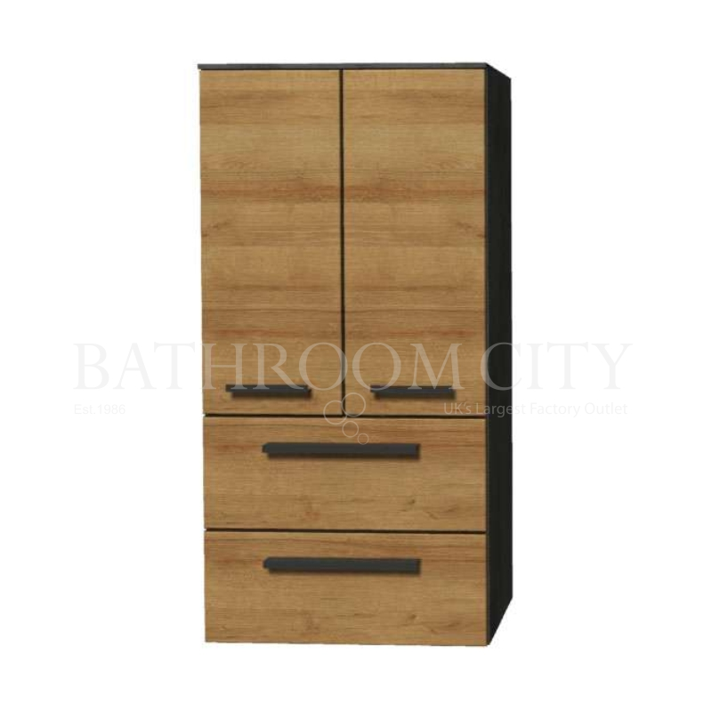 Solitaire 9025 Midi cabinet 2 doors 2 drawers 1210x600x330  PG1