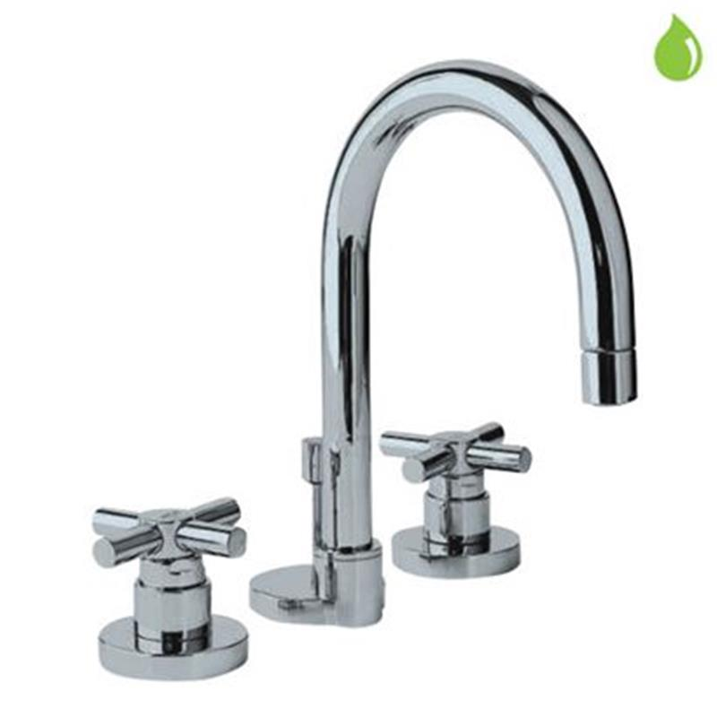 Solo 3 hole Basin Mixer with pop-up-waste, LP 0.3