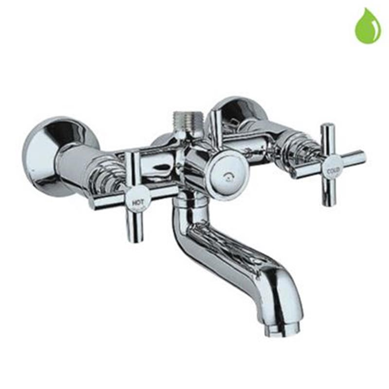 Solo Bath & Shower Mixer with Provision for Connection to Exposed Shower Pipe (SHA-1211), Wall Mounted LP 0.3