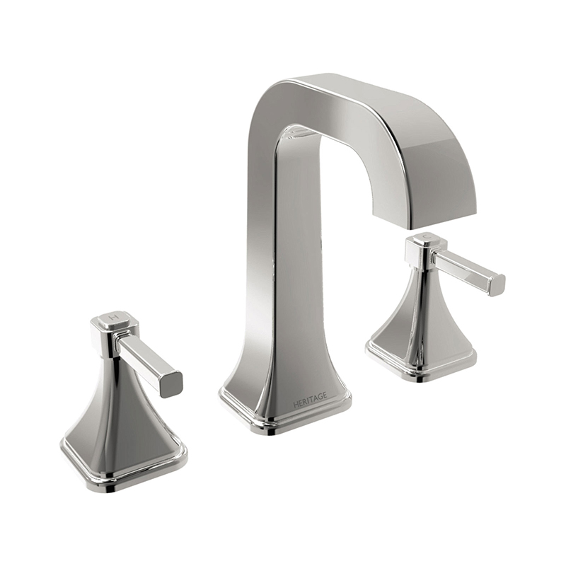 Somersby 3 Hole Basin Mixer Chrome
