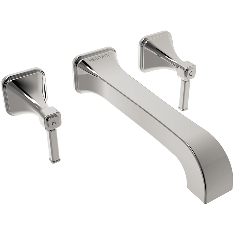 Somersby Wall Mounted Basin Mixer