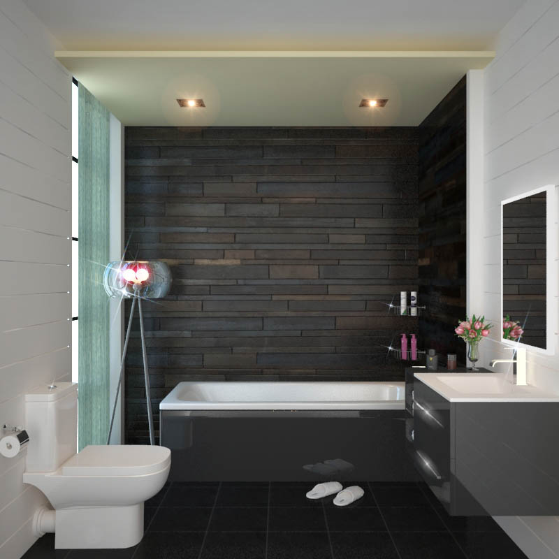 SONIX 890  Grey BATHROOM SUITE