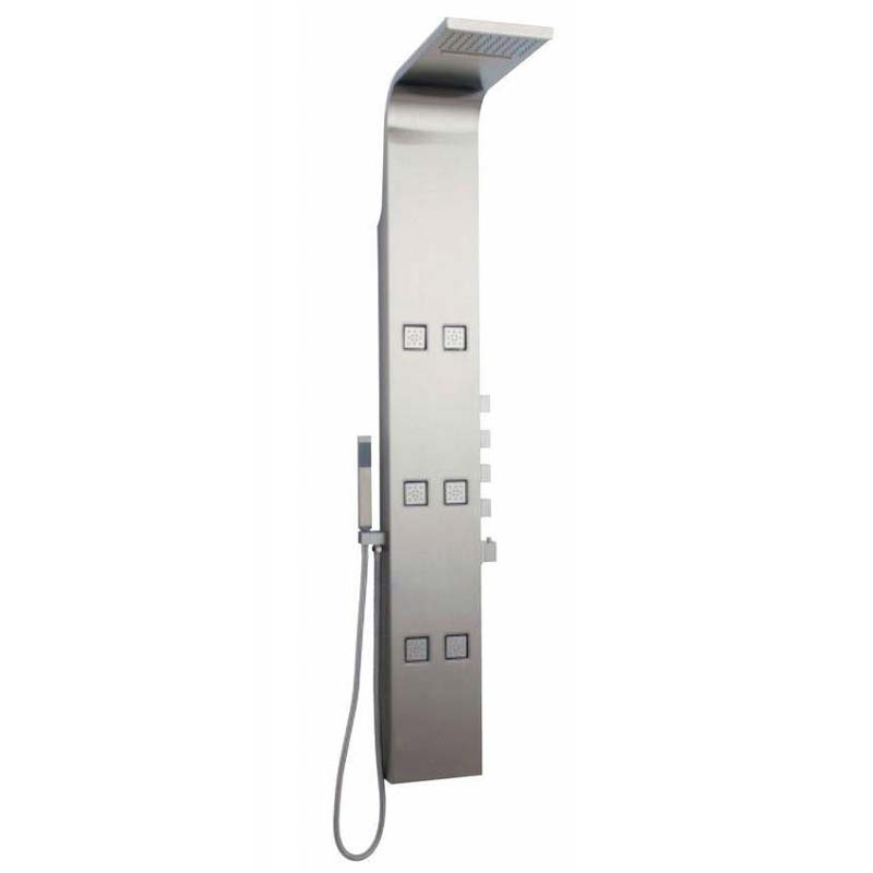 Stainless Steel Astral Thermostatic Shower Panel