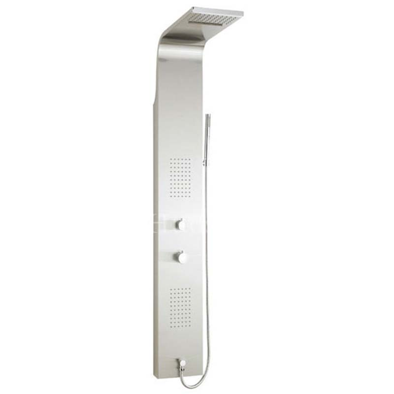 Stainless Steel Lava Thermostatic Shower Panel