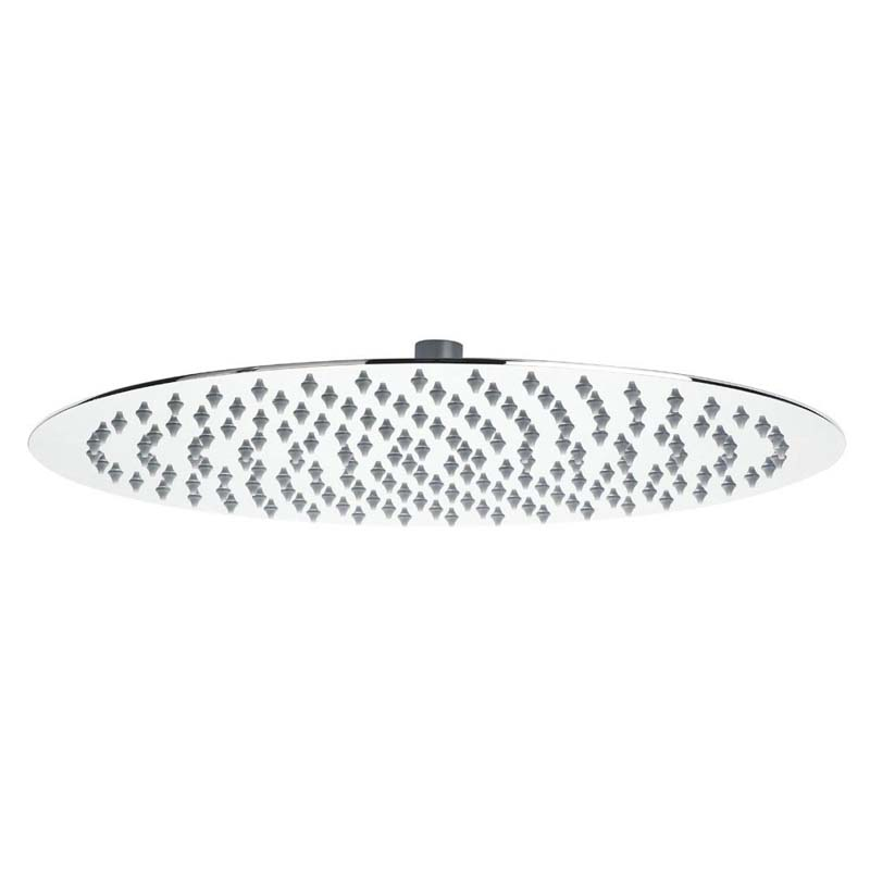 Stainless Steel Slim stainless Steel Round Fixed Head 400mm Dia