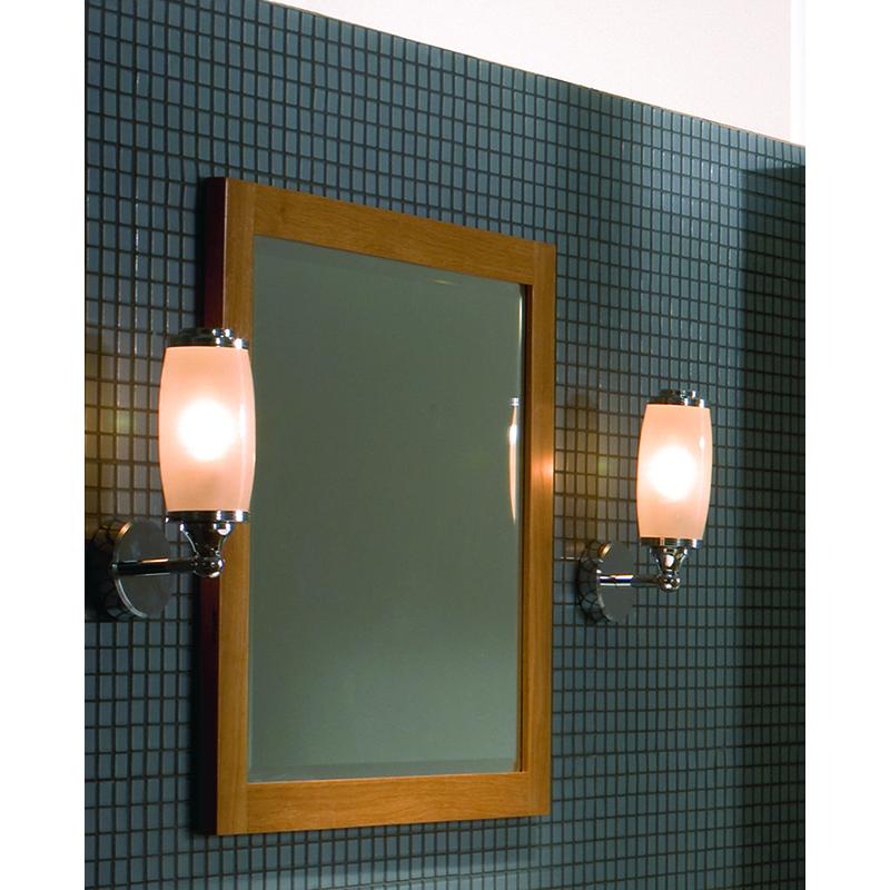 Toledo Single Wall Light and Glass Shade