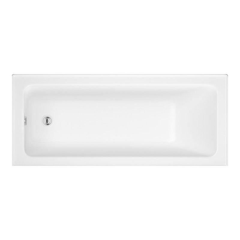 Trojan 8mm Roma 1700x750 White ENCAP Base Bath