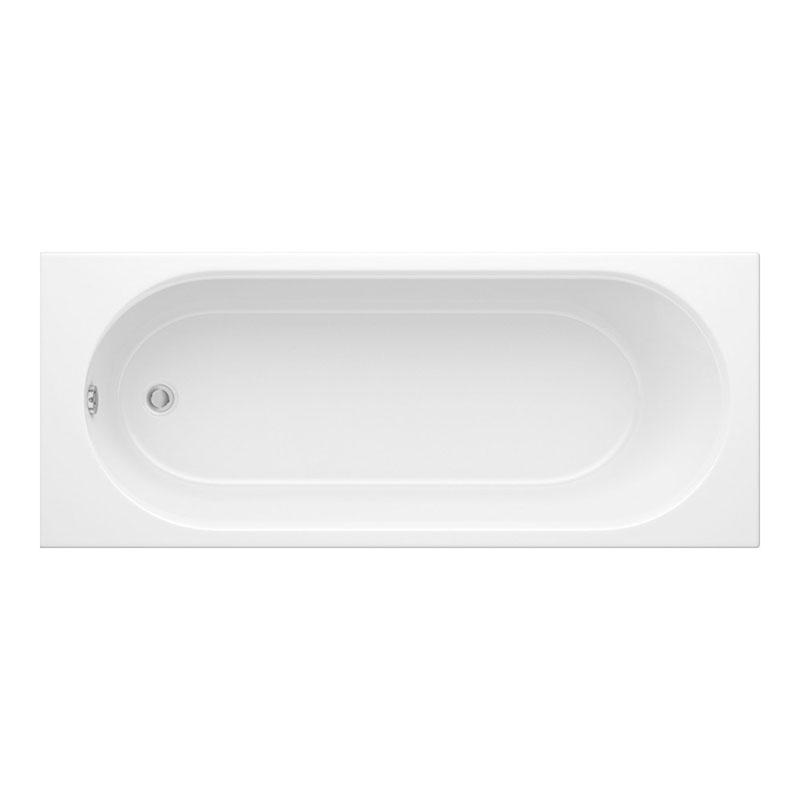 Trojan Porto 1700 x 700 Plain Bath White 2TH