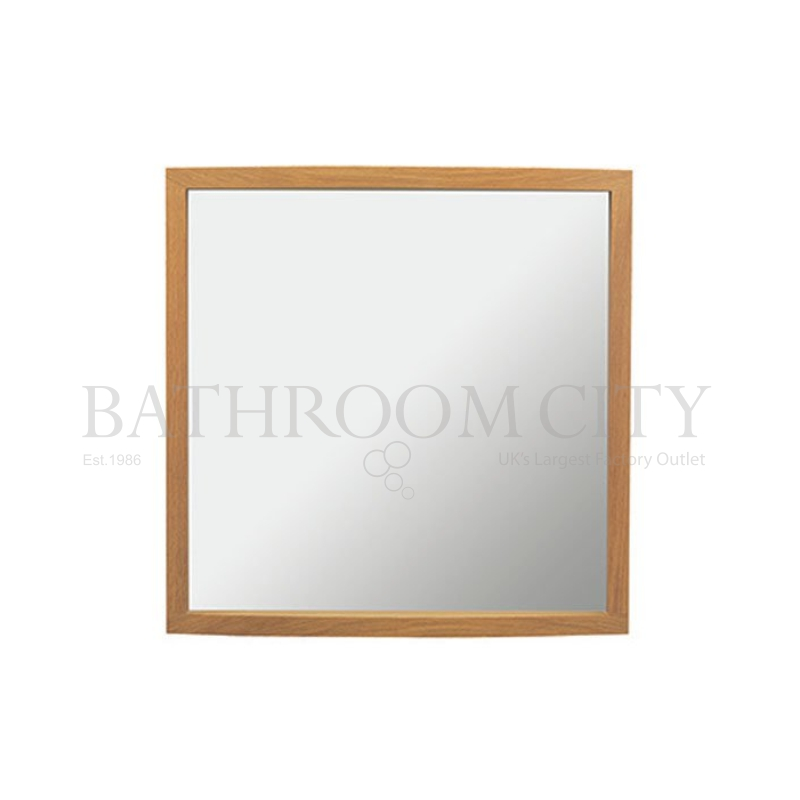 Verona Large Mirror and Demister Rosedale White