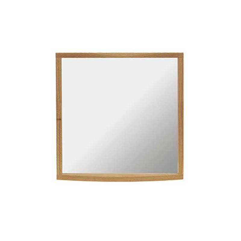 Verona Small Cloak Mirror and Demister Rosedale White