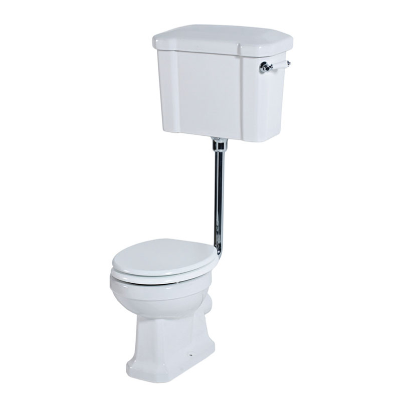 VICTORIANA PAN and Low Level CISTERN White