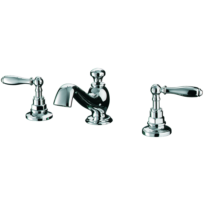 Vuelo 3 Hole Basin Mixer Kit Chrome