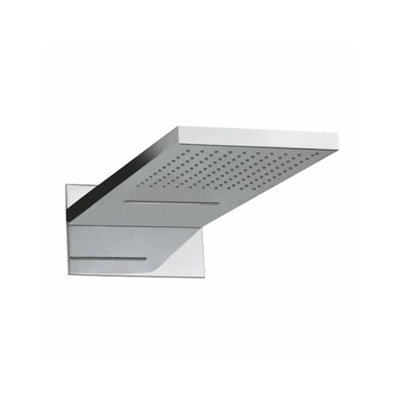 Waterfall Overhead Shower 550X230X25mm, Dual Function (Normal & Cascade), Brass, HP 1.0