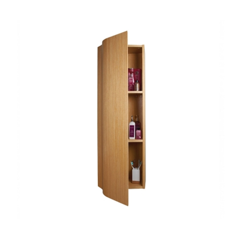 FW40WB WAVE Tall Cupboard Beech