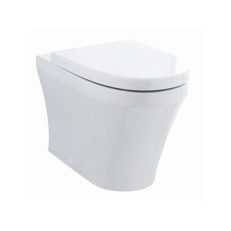 White Marlow Back to wall toilet and soft clsoe seat