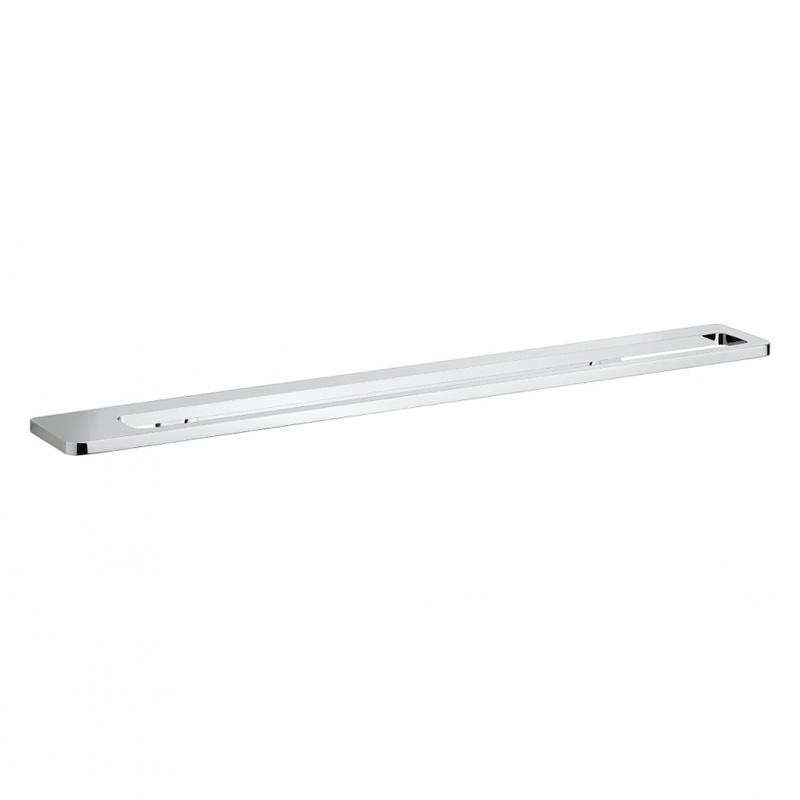 Wisp Single Towel Rail 60cm Chrome