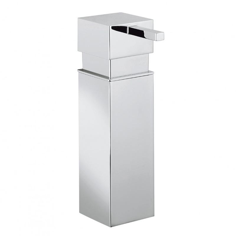 Zest Wall Soap Dispenser Chrome