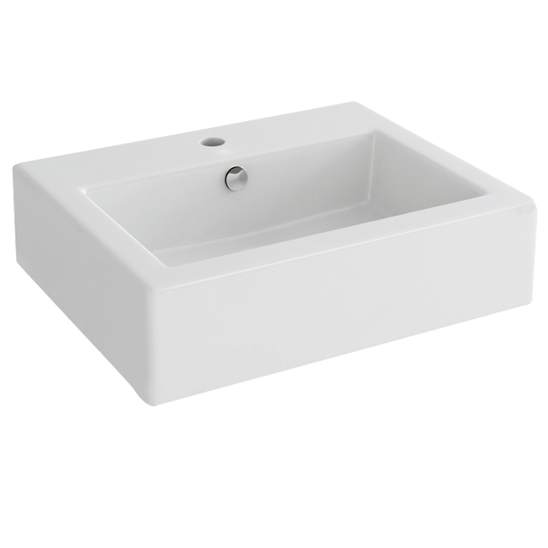 Arco / Str8 50cm Basin with one tap hole
