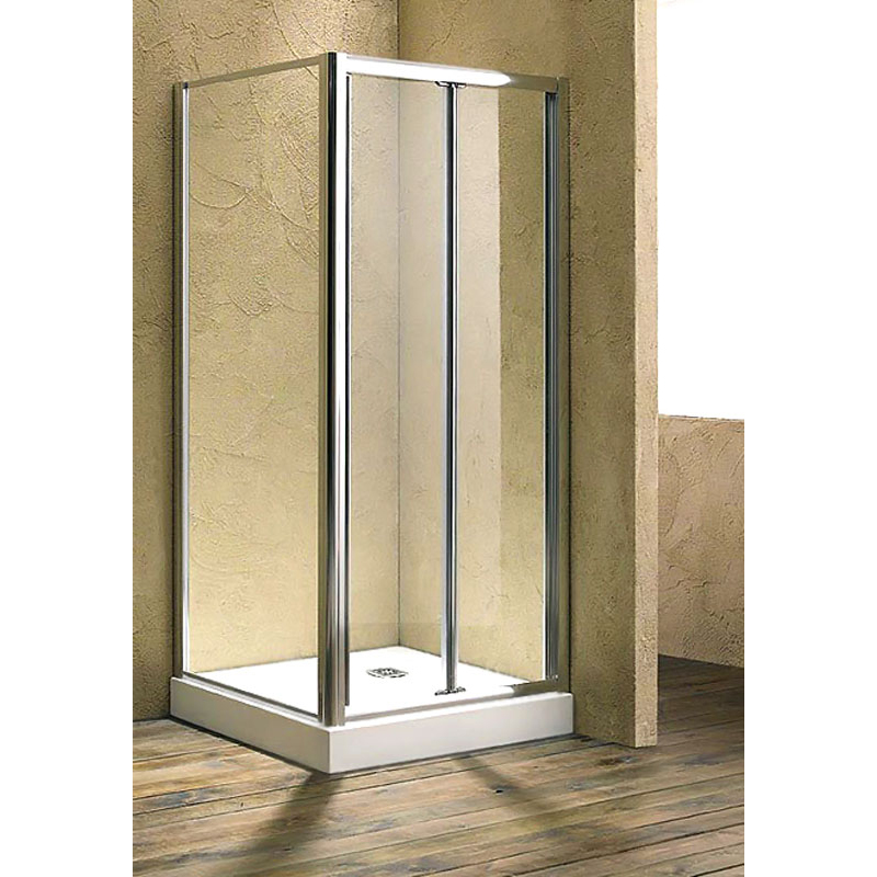 800 Bi-Fold Shower Door & 760 side Panel