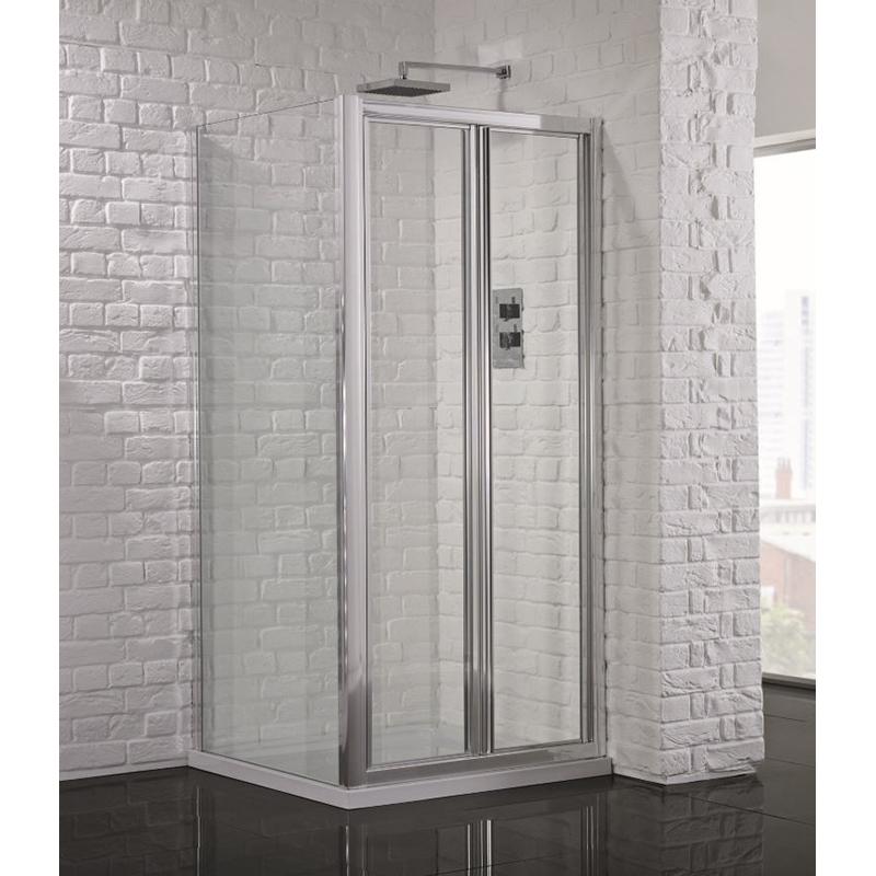 BC 760 Bi-Fold Shower Door & 760 side Panel