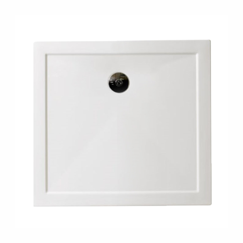 Rectangle 900x760 Slimline Low Profile Resin Shower Tray